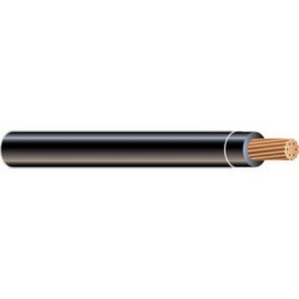 10 AWG THHN/THWN Stranded Copper, Black, 500'