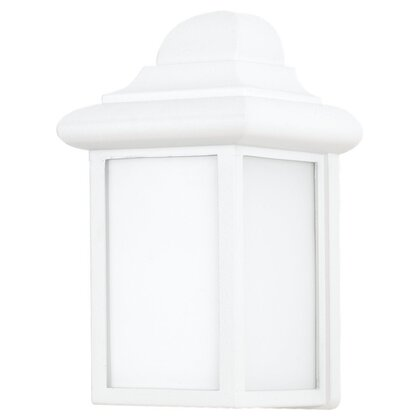 Lantern, Outdoor, 1 Light, 13W, White