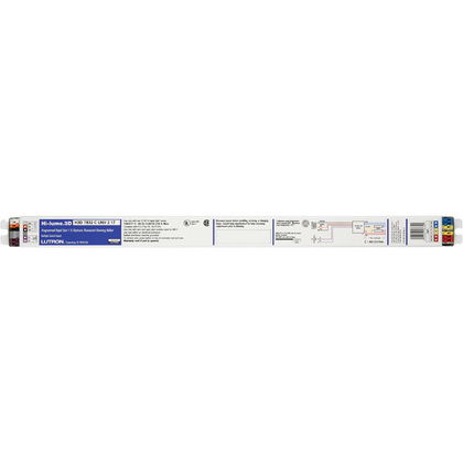 Electronic Dimming Ballast, Fluorescent, T8, 2-Lamp, 17W, 120-277V