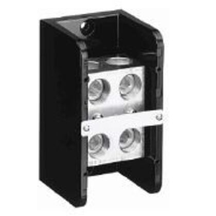 Power Distribution Block, 760A, 1P, 2 In/2 Out, #4 - 500MCM