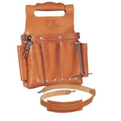 Tuff-Tote™ Premium Leather Tool Pouch w/Strap