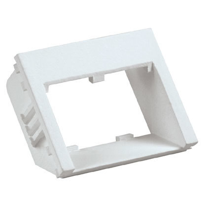 Insert, 2 Port, 1/2 Size, Flat Recessed, *** Discontinued ***