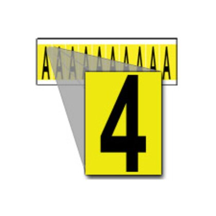 34 Series Number & Letter Card