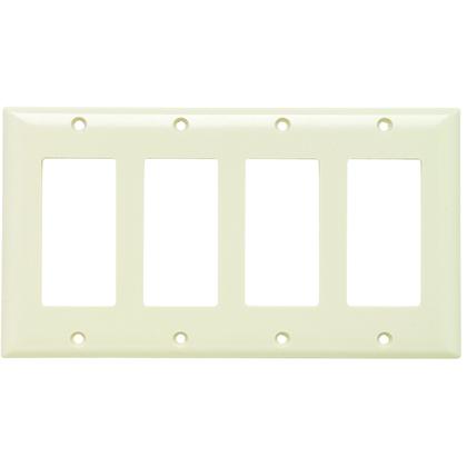 PLATE PLASTIC 4G 4SPLEX W/OUT LINE LA
