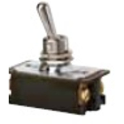 Heavy Duty Toggle Switch, DPST, Screw Termination, 4 Terminals