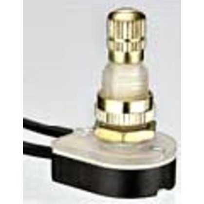 Rotary Switch, Brass, SPST, On-Off *** Discontinued ***