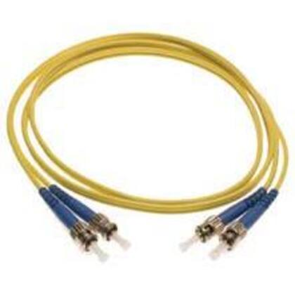 Fiber Optic Patch Cord, Duplex, LC to LC, Multimode, 1 Meter, Yellow