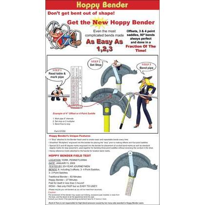 """Conduit Bender, 1/2"""", Limited Quantities Available"""