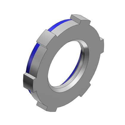 """Locknut, Type: Sealing, Size: 2"""", Steel"""