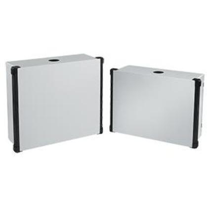 Enclosure With Black Extrusions, Concept HMI, 350 x 450 x 120mm