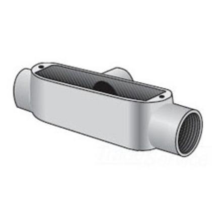 """Conduit Body, Type T, 1/2"""", Spec 5, Aluminum"""