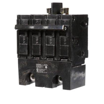 Breaker, 125A, 2P, 120/240V, 10 kAIC, Type QPP
