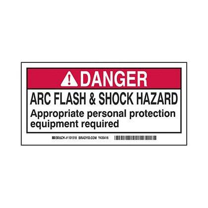 B302 2x4 Blk,red/wht 100/rl Flash&shock