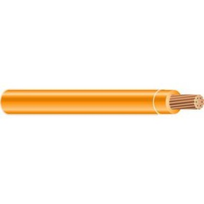 Machine Flexible Power Cable, 350 MCM THHN, Orange, 600V