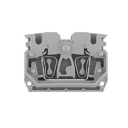 Terminal Block, 20A, 600V AC/DC, Plug-in Component, Gray, 2.5mm
