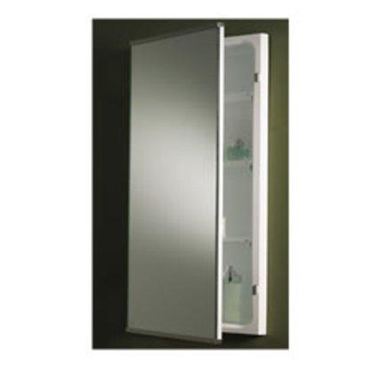 Mirror Door, Stainless Steel Trim