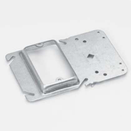 """UNI-MOUNT BOX SPT CVR PLT MOUNT""""G BRKT, SGL GANG,  1/2"""" DRY"""