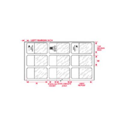 Label,InkJet,B117,Cl/Wt,0.95x3.75,56/PK
