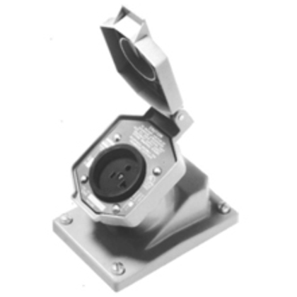 Deadfront Interlocked Receptacle, 20A, 125V, Limited Quantities Available