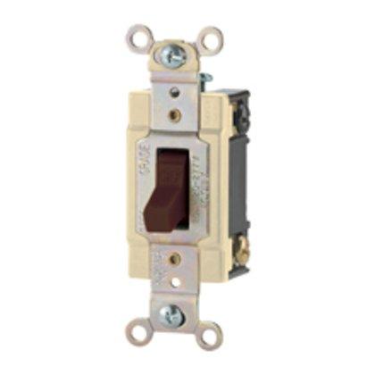 Switch Tog 3Way 20A 120/277V B/Swire IV