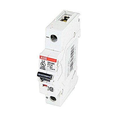Circuit Breaker, Miniature, DIN Rail Mount, 6A, 1P, 60VDC