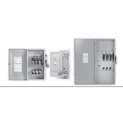 Safety Switch, Fused, 600A, 600VAC, 3P/4W, 3 Fuse, NEMA 3R
