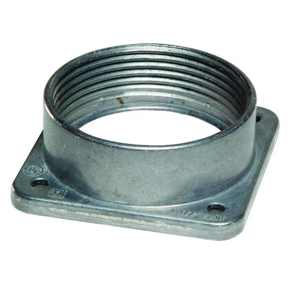 "Meter Base, Hub, NEMA 3R, 2-1/2"", 4 Screw Mount"