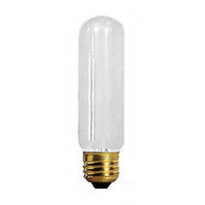 Incandescent Bulb, T10, 60W, 130V, Frosted