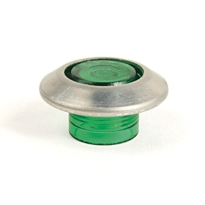 Push Button, Cap Only, Green, Push/Pull, 22.5mm, Illuminated