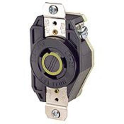 Locking Receptacle, 20A, 125V, L5-20R, 2P3W