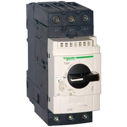 Manual Motor Control, Breaker, 48 - 65A, 600VAC, 3P, Screw Clamp
