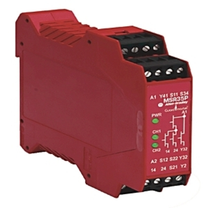 Relay, Specialty Safety, 2 Handed Control, 24VDC SELV *** Discontinued ***