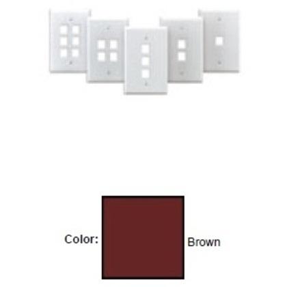 Midsize Wallplate, Brown