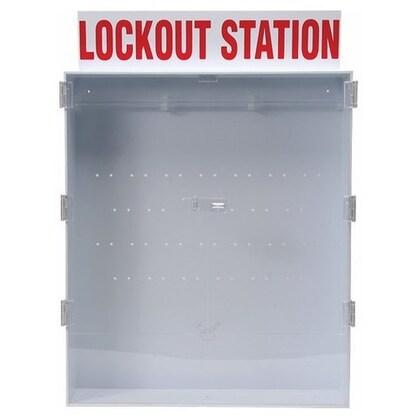 Large Lockout Station, English Enclosed Style Station, Empty