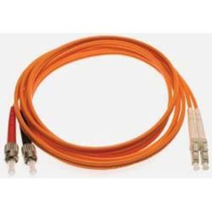Fiber Optic Patch Cable, Duplex, ST/LC Multimode, 2 Meters