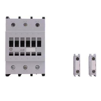 Contactor, IEC, 80A, 460V, 3P, 24VDC Coil, 1NO/NC Auxiliary