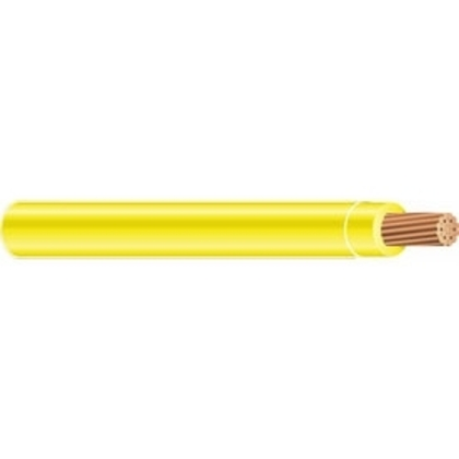 350 MCM THHN Stranded Copper, Yellow, 1000'
