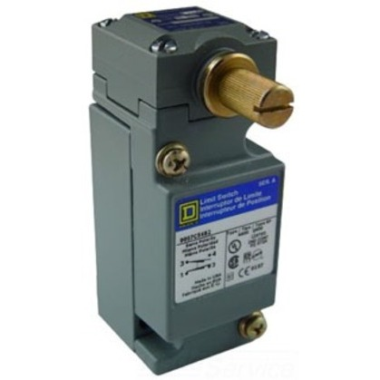 Limit Switch, Side Rotary, No Operator, 10A, 600VAC, Plug-In Body *** Discontinued ***