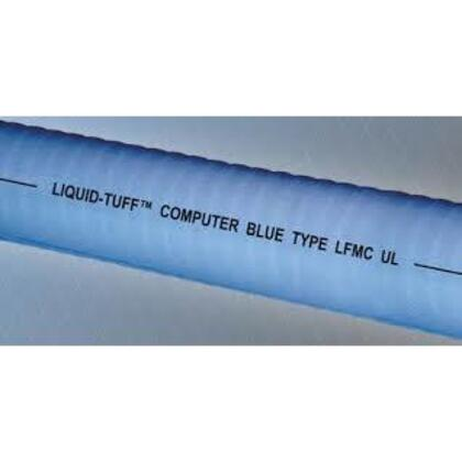 "Liquidtight Flexible Steel Conduit, Type UA, 3/4"", Blue, Cut to Length"