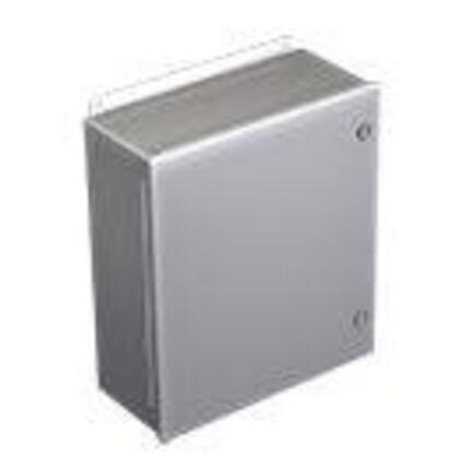 """Junction Box, NEMA 4/12, Continuous Hinge, 16"""" x 14"""" x 8"""""""