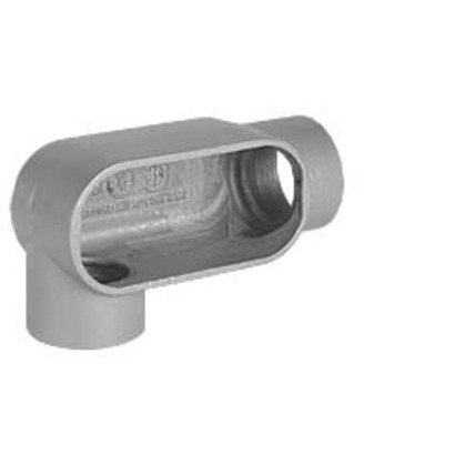 "1"" LR Hub, Aluminum Form 7 Conduit Body"