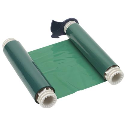 "Series R10000 Printer Ribbon, Green, 8.8"" Wide, 200' Long"