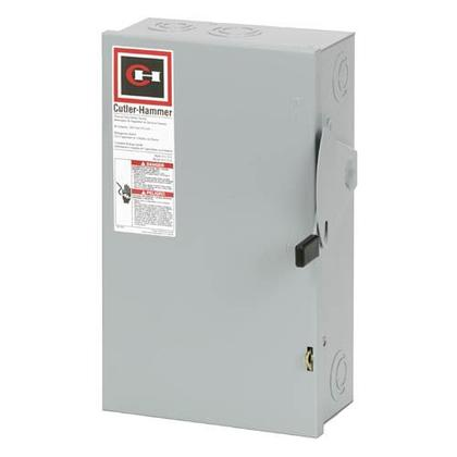 Safety Switch, 60A, 3P, 240V, Type DG, Fusible, NEMA 1