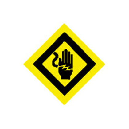 ELECTRICAL HAZARD SIGN *** Discontinued ***