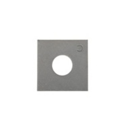 """Square Washer, Steel, 5/8"""""""