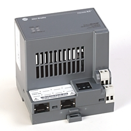 Communication Adapter, Flex I/O Ethernet/IP, 8 Modules, 24VDC