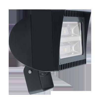 Flood Light, LED, 1-Light, 78W, 120-277V, Bronze