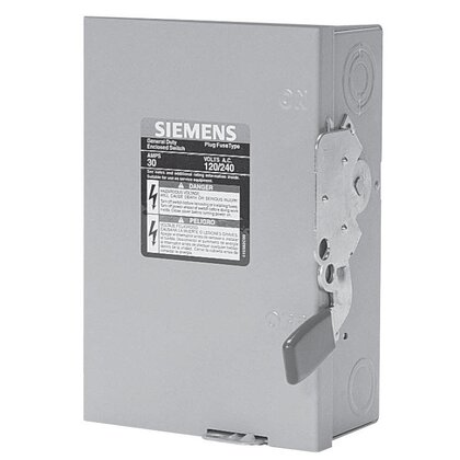 Safety Switch, 400A, 2P, 240V, GD Fusible, NEMA 3R *** Discontinued ***