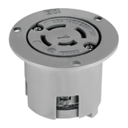FLANGED OUT 20A 120/208V