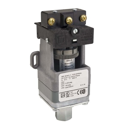 PRESSURE SWITCH 480VAC 10AMP G +OPTIONS *** Discontinued ***